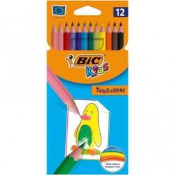 Lápices de colores bic kids...