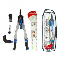 Pack marcadores fluorescentes bic highlighter grip pastel - colores azul / amarillo / rosa / verde - mango texturizado - punta