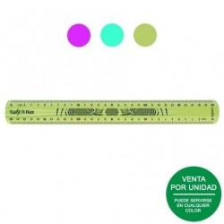 Pack 5 rotuladores de tiza líquida apli 13959 - punta redonda 5.5mm- fácil borrar - secado rápido - colores surtidos