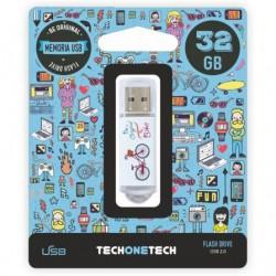 Pendrive 32gb tech one tech...